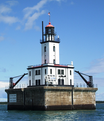 DeTour Reef Lighthouse photograph (c) 2008 Dave Bardsley